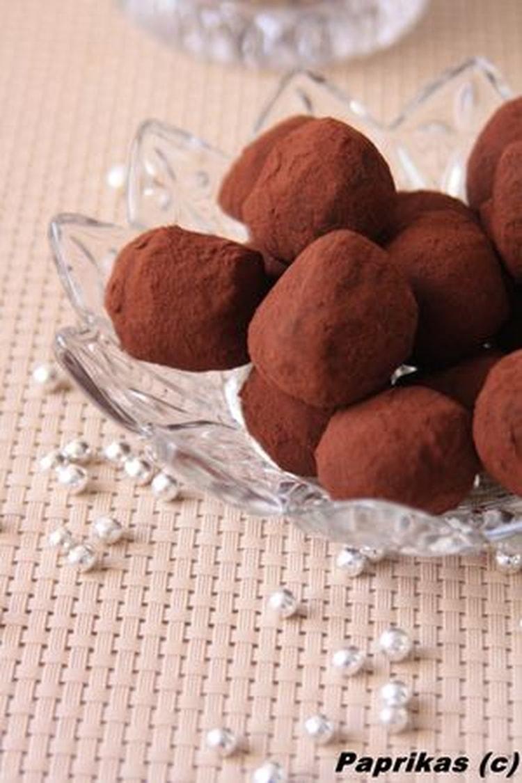 Truffes au chocolat, envie d'une petite recette sympa ?